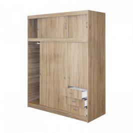 Idea Skříň s posuvnými dveřmi 53000 dub