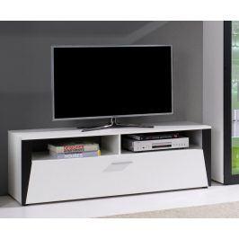 Falco TV stolek Piass bílá/černá