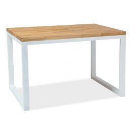 Casarredo Jídelní stůl LORAS II 150x90 dýha dub/bílá