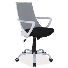Casarredo Kancelářské křeslo Q-248 černá/šedá