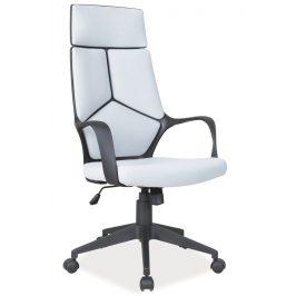 Casarredo Kancelářské křeslo Q-199 šedá/černá