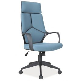 Casarredo Kancelářské křeslo Q-199 modrá/černá