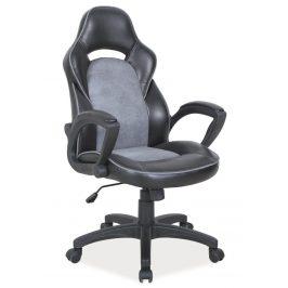 Casarredo Kancelářské křeslo Q-115 černá/šedá
