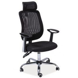 Casarredo Kancelářské křeslo Q-118 černá