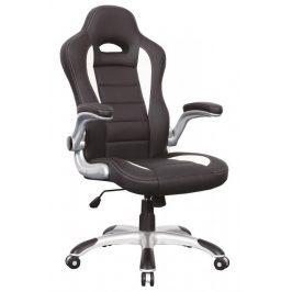 Casarredo Kancelářské křeslo Q-024 bílá/černá
