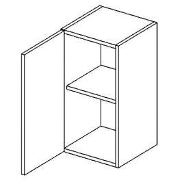 Casarredo W40L horní skříňka jednodvéřová PREMIUM de LUX olše