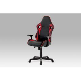 Autronic Kancelářská židle KA-E807 RED