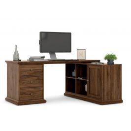 Falco Rohový psací stůl Provence 822 ořech