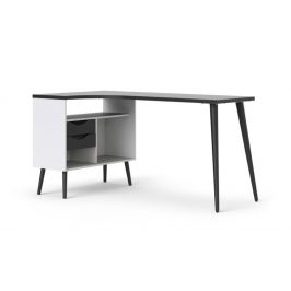 Falco Psací stůl Retro 450 bílá/černá Psací stoly