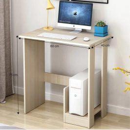 Tempo Kondela PC stůl KARINO - světlý buk
