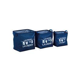 Autronic Koš na prádlo plátěný, 3 kusy DD3102