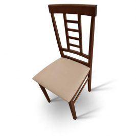 Tempo Kondela Jídelní židle OLEG NEW - ořech / béžová