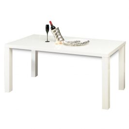 Tempo Kondela Jídelní stůl ASPER New TYP 1 - bílá vysoký lesk HG