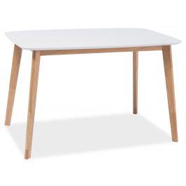 Casarredo Jídelní stůl MOSSO I dub-bílá