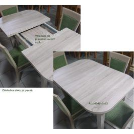 Stima Jídelní stůl CASA MIA - rozkládací 80x80+40cm - dub sonoma