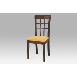 Autronic Jídelní židle BE1604 WAL/sedák S5 verona 23 red