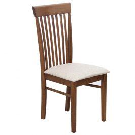 Tempo Kondela Židle ASTRO NEW - ořech / světlehnědá látka