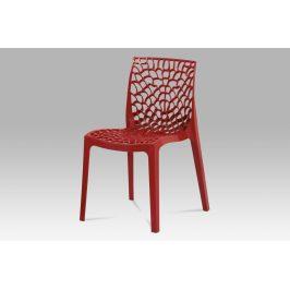 Autronic Jídelní židle CT-820 RED