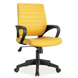 Casarredo Kancelářské křeslo Q-051 žlutá