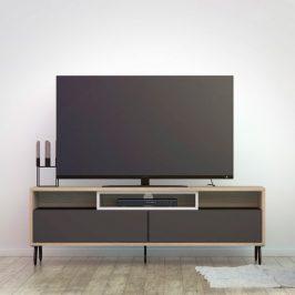 Falco TV stolek Mateo 992 oak/grey/bílá