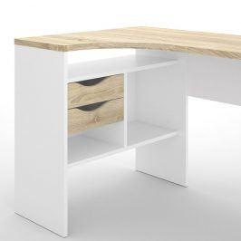 Falco Psací stůl Felix 118 bílá/oak