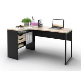 Falco Psací stůl Felix 118 černá MAT/oak