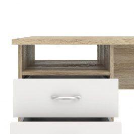 Falco Psací stůl Felix 134 oak/bílá