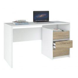 Falco Psací stůl Felix 123 bílá/oak