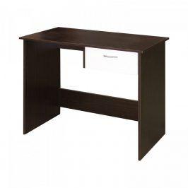 Idea Psací stůl 60042 mahagon/bílá