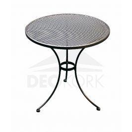 Deokork Kovový stůl kulatý ø 70 cm