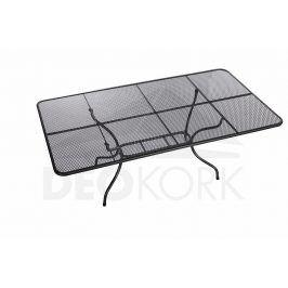 Deokork Kovový stůl obdelník 145 x 90 cm