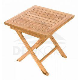 Deokork Zahradní odkládací stolek CANADA (teak)