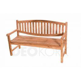 Deokork Zahradní teaková lavice BLADE 150 cm