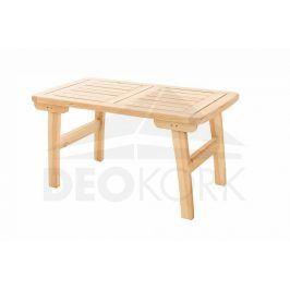 Deokork Masivní zahradní stůl z borovice ROMANTIC (32 mm)