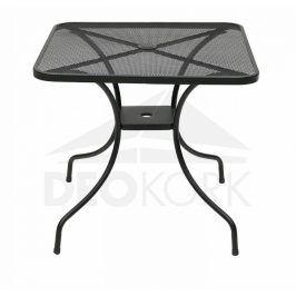 Deokork Kovový stůl MONTREAL 80x80 cm
