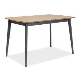 Casarredo Jídelní stůl rozkládací VITRO II 120-160 dub/grafit