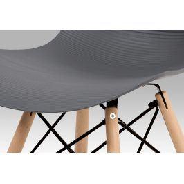 Autronic Jídelní židle AUGUSTA GREY - šedá