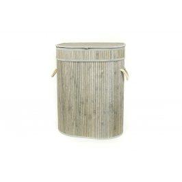 Autronic Koš na prádlo z bambusu KD4426
