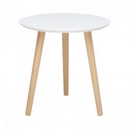 Idea Odkládací stolek IMOLA 1 bílý/borovice