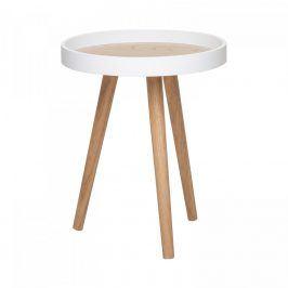 Idea Odkládací stolek FANO bílý/borovice