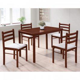 Idea Stůl + 4 židle FARO lak třešeň