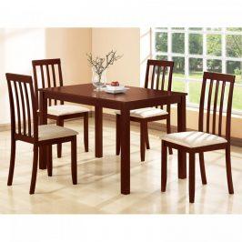 Idea Stůl + 4 židle MALAGA lak třešeň