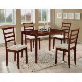 Idea Stůl + 4 židle LIVORNO lak třešeň