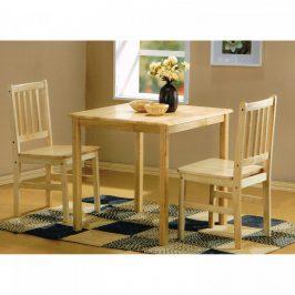 Idea Stůl + 2 židle GENT lak