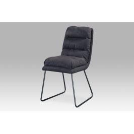 Autronic Jídelní židle DCH-255 GREY3 - šedá látka