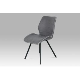 Autronic Jídelní židle HC-440 GREY3 Židle do kuchyně