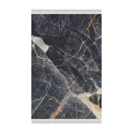 Tempo Kondela Koberec RENOX TYP 1, 80x150 - vzor černý mramor