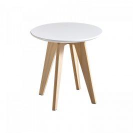 Idea Konferenční stolek RONDO bílý
