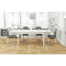 Halmar Jídelní stůl ROIS - bílý
