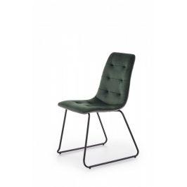 Halmar Jídelní židle K-321 - zelená Židle do kuchyně